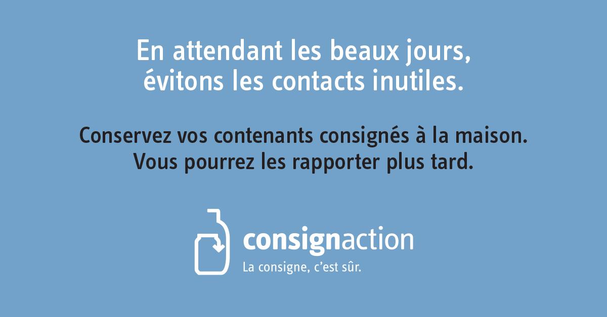 Consignaction - Covid-19